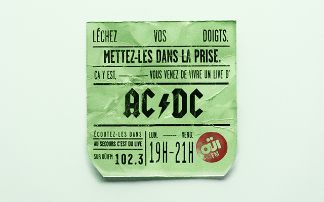 OuiFM-ACDC