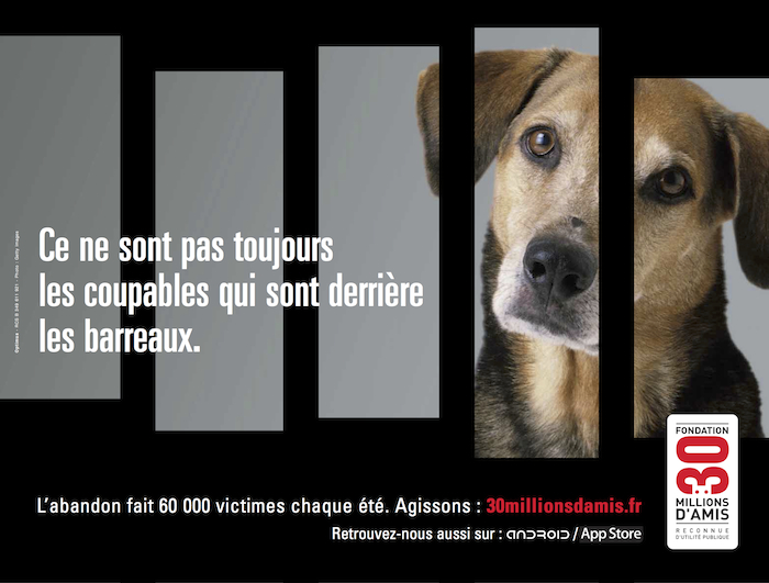 Campagne 30 Millions d'Amis 2011