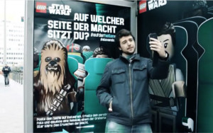 Star-Wars-selfies-by-Lego+allemagne+abribus star wars