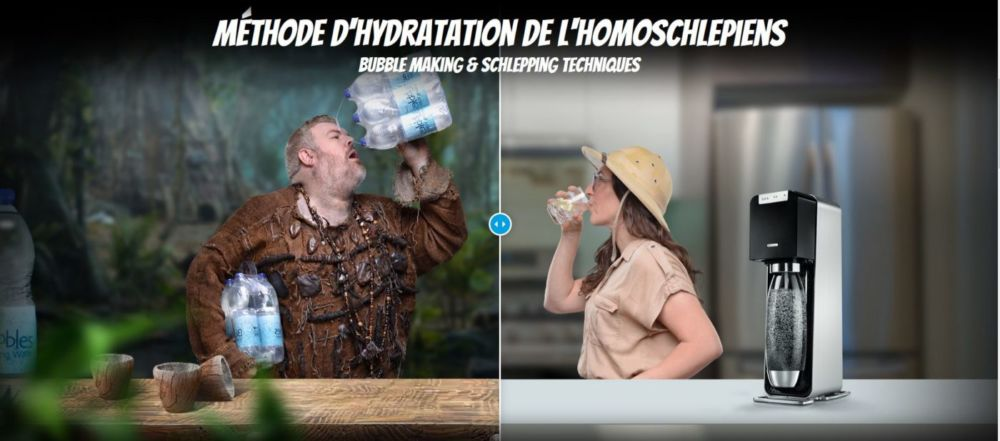 """Sodastream 2017 - """"Who Are The Homoschlepiens ? »"""