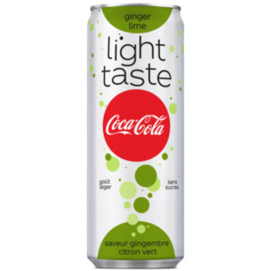 coca-cola light ginger lime